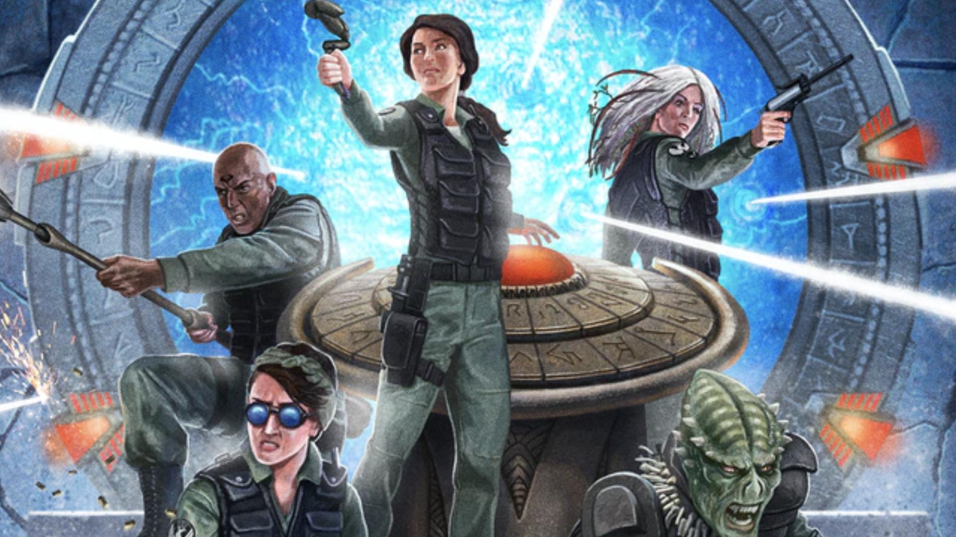 Stargate SG-1: Roleplaying Game artwork