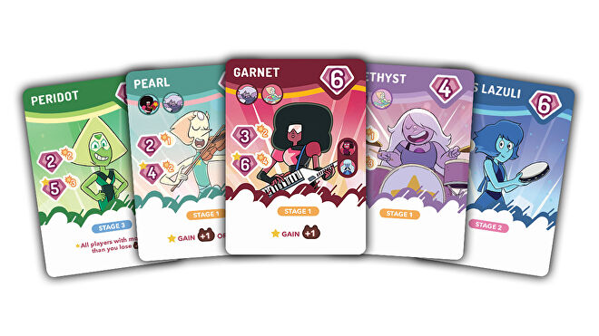 Steven Universe: Beach-a-Palooza Battling Card Game cards