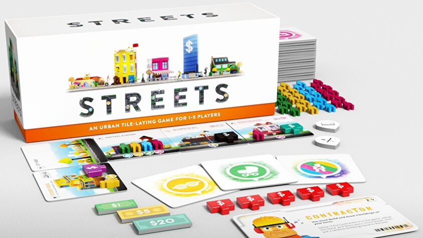 Streets board game layout