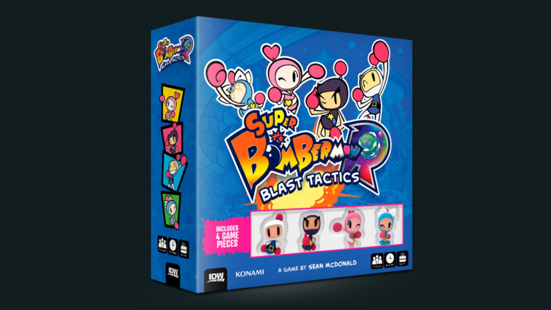 Super Bomberman R Blast Tactics box art Art Potions