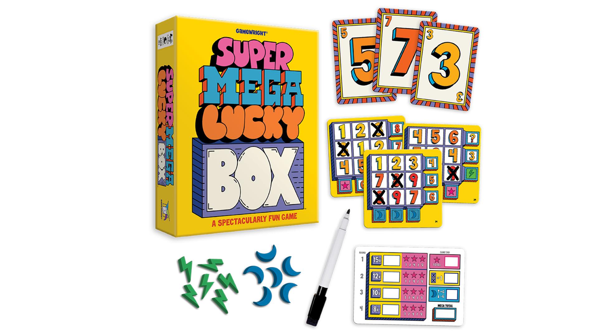 Super Mega Lucky Box layout