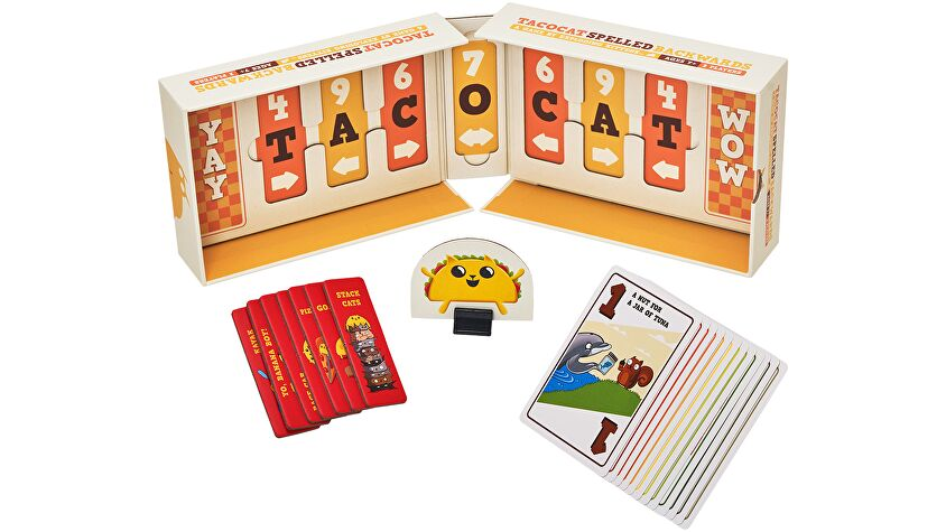Tacocat Spelled Backwards layout image