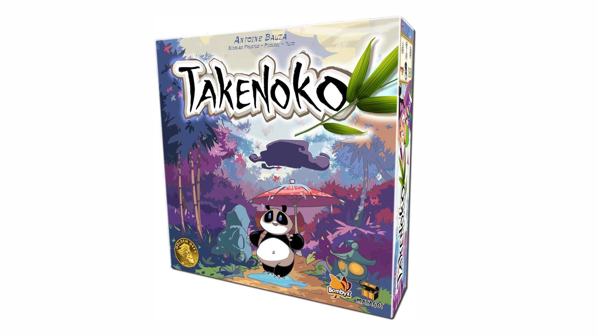 Takenoko board game artwork