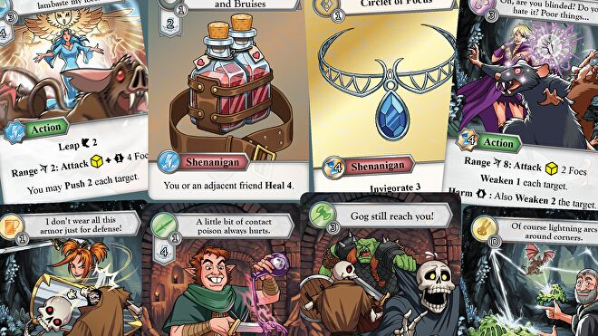 Tales from the Red Dragon Inn cards