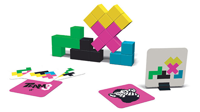 Team3 Pink party board game gameplay layout