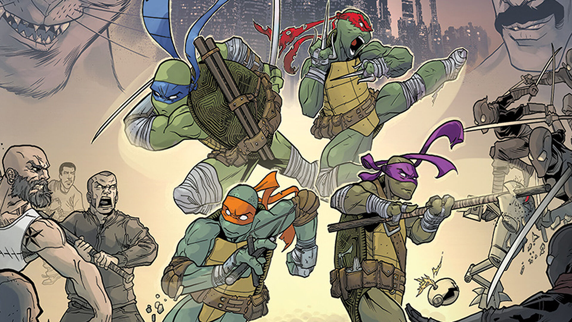 Teenage Mutant Ninja Turtles Adventures Board Game Review Is The Shadows Of The Past Reboot Worth Shelling Out For Dicebreaker
