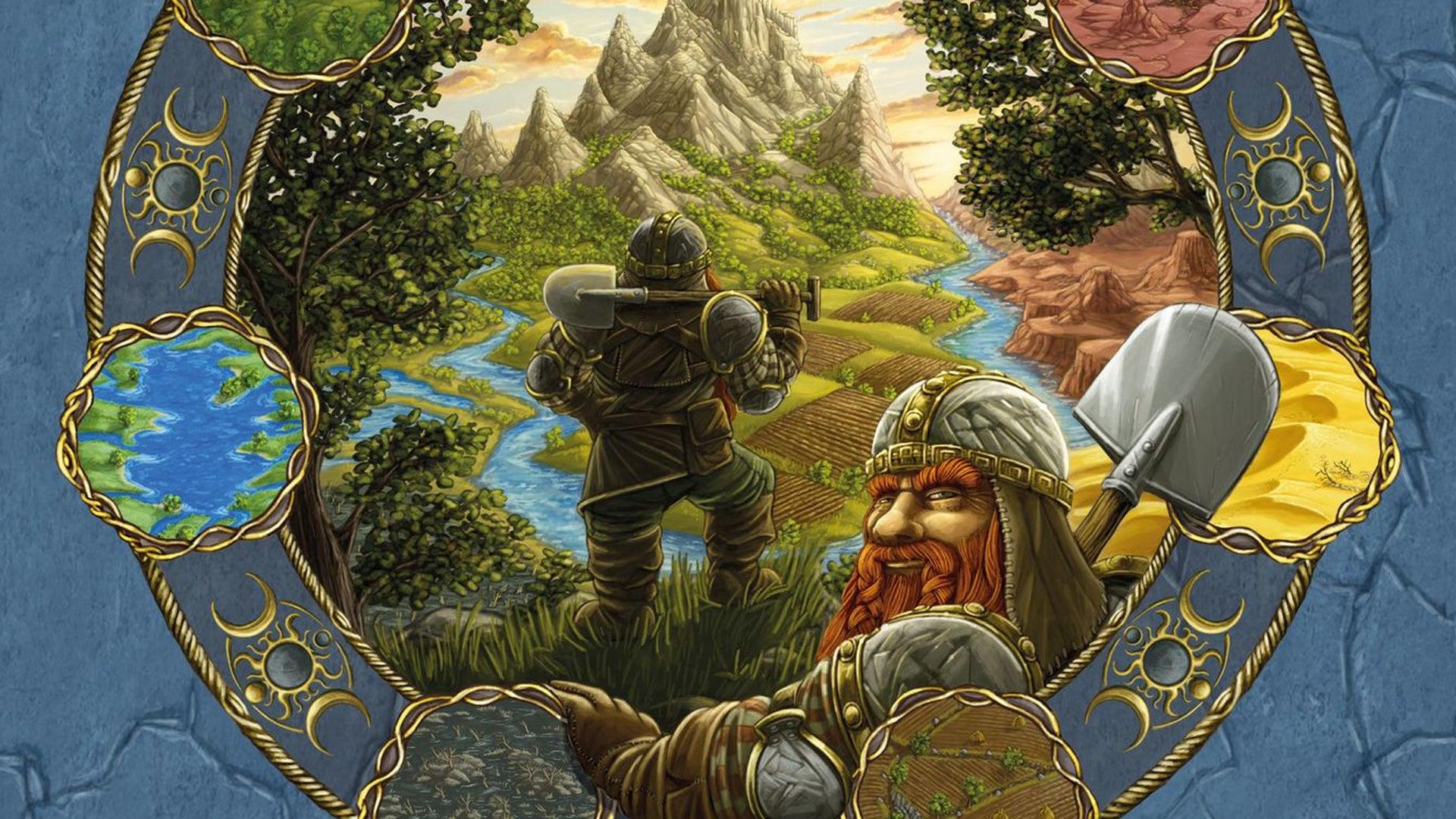 Terra Mystica board game artwork
