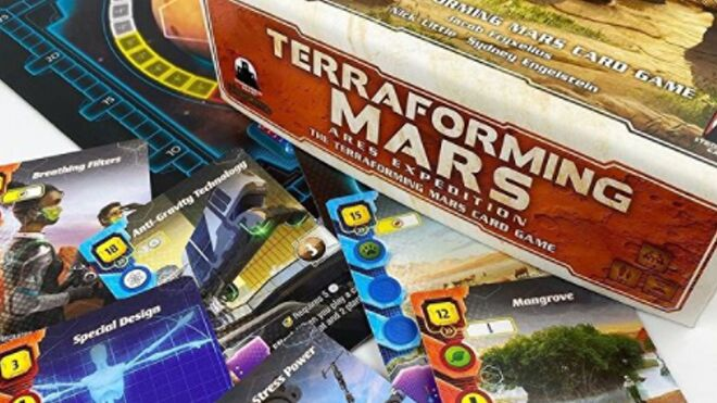 Terraforming Mars: Ares Expedition promo image