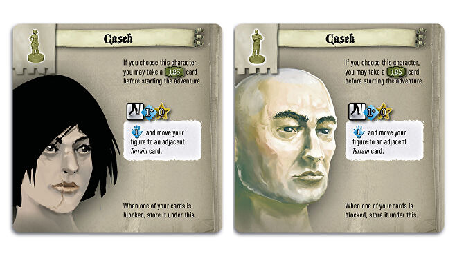 The 7th Citadel board game cards