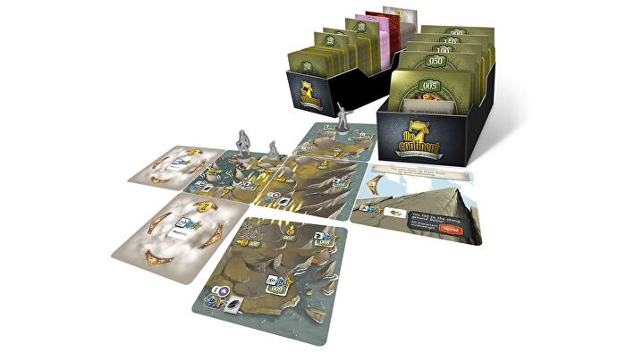 The 7th Continent board game gameplay