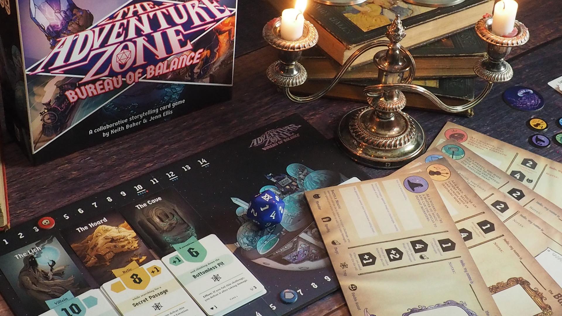 The Adventure Zone: Bureau of Balance layout image