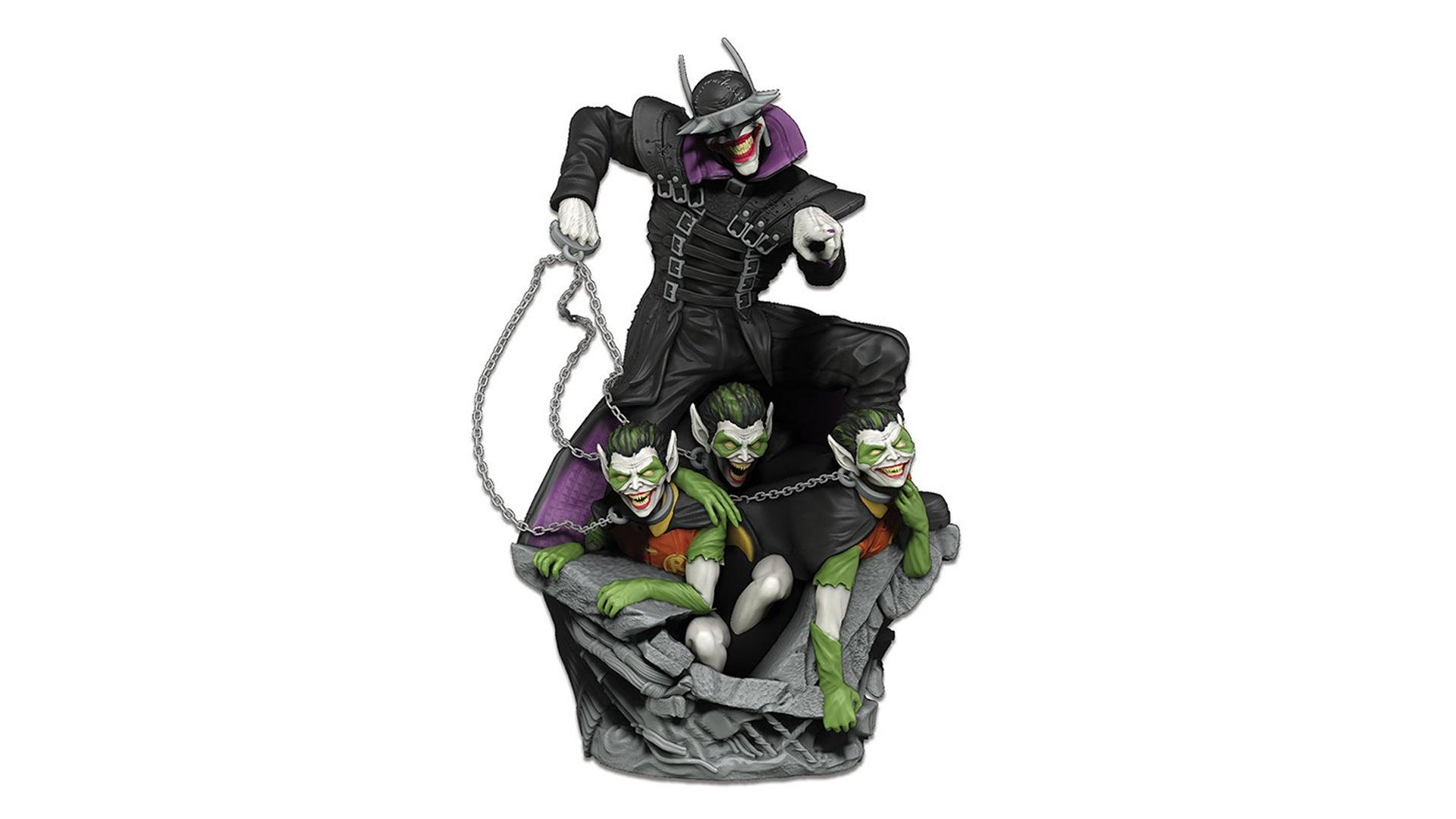 The Batman Who Laughs Rising board game miniature