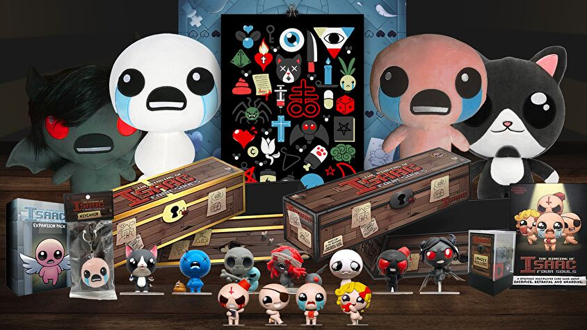 The Binding of Isaac: Four Souls - Requiem layout