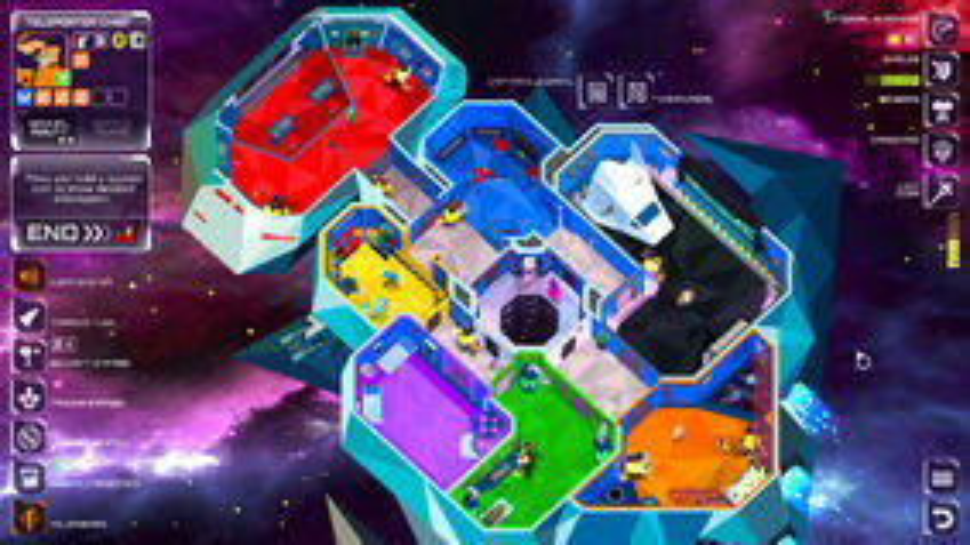The Captain is Dead digital board game screenshot 2