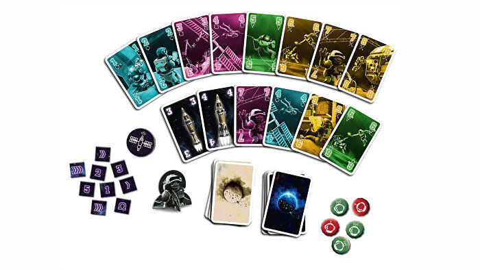 The Crew: Quest for Planet Nine board game cards