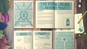 The Door Locks Behind You layout