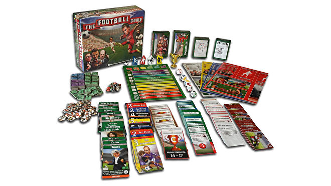 The Football game board game layout