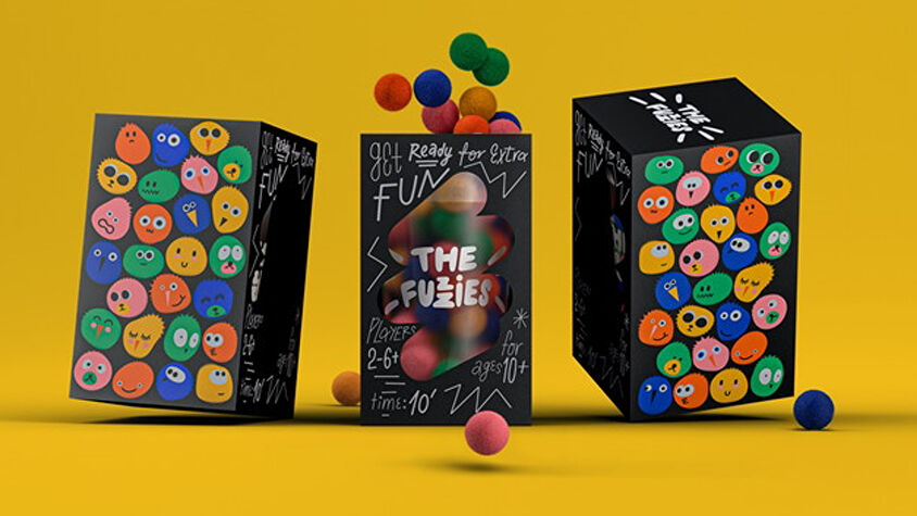The Fuzzies board game box