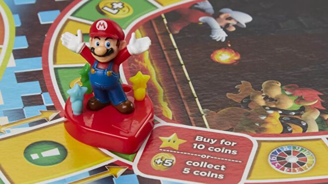 The Game of Life: Super Mario Edition close-up