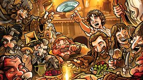 Image for The Hobbit board game on the way from Lord of the Rings movie effects studio