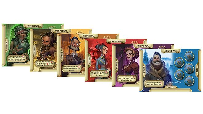 The Hunger cards