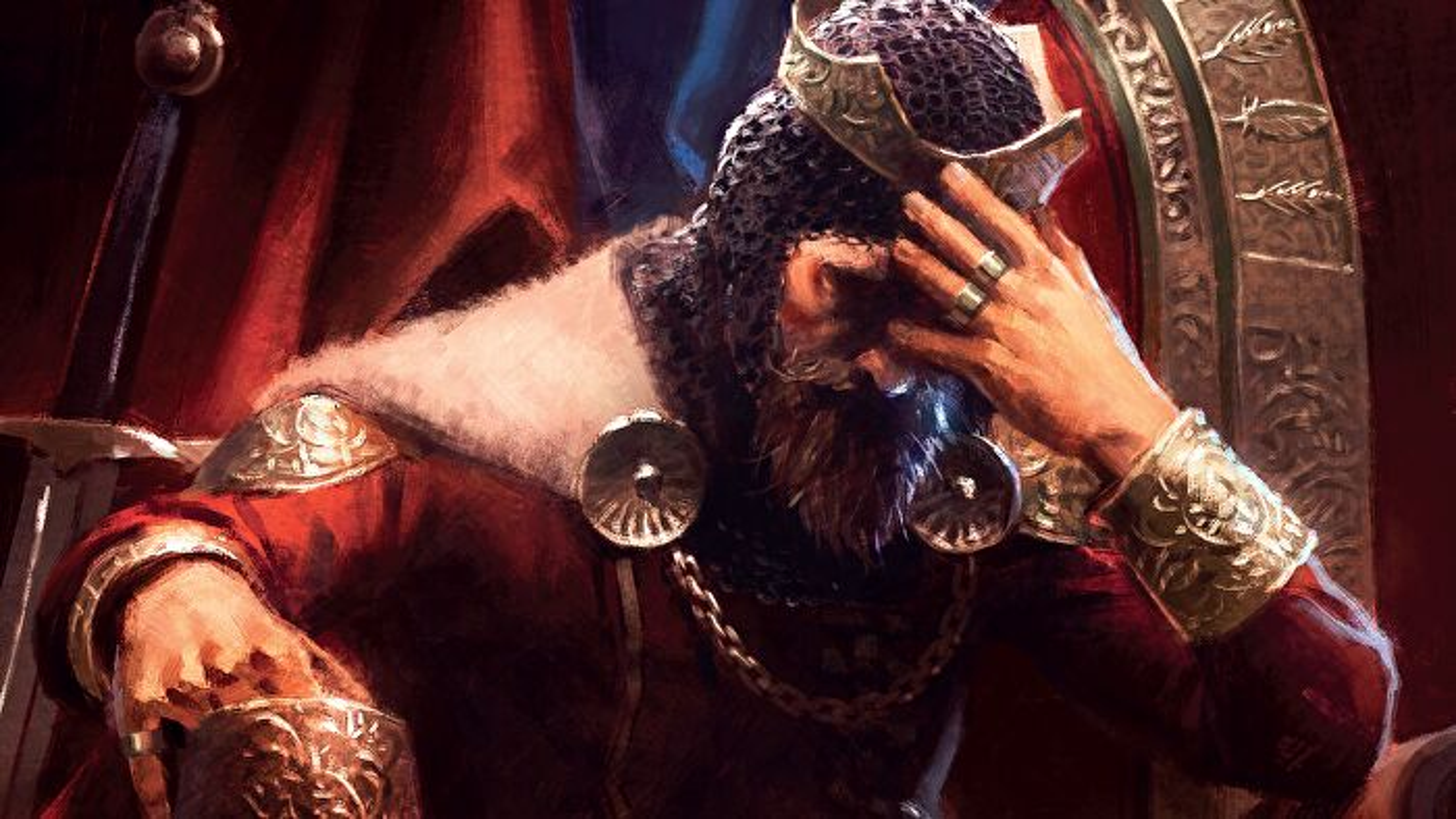 The King's Dilemma legacy board game box artwork
