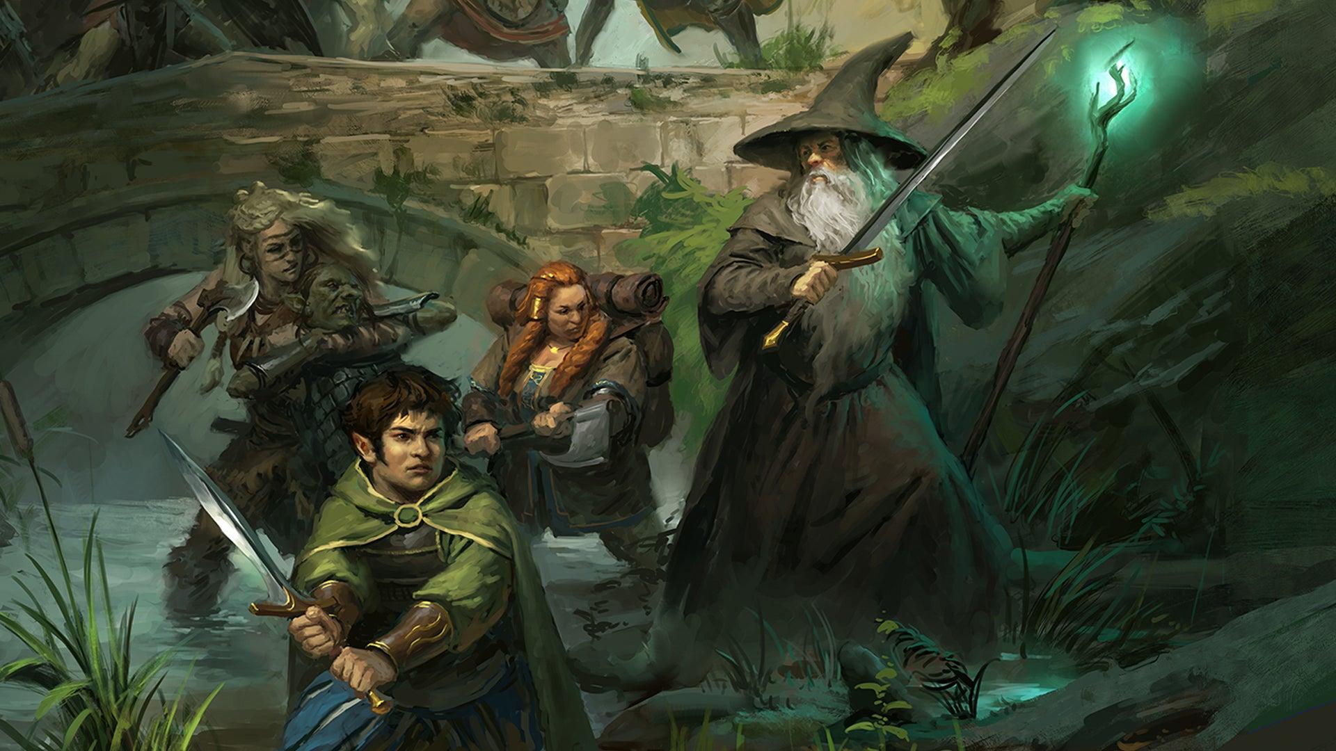 The One Ring RPG 1E artwork