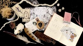 Image for Keepsake game The Shape of Shadows transforms a day planner into a magician's grimoire