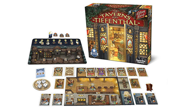 The Taverns of Tiefenthal layout image