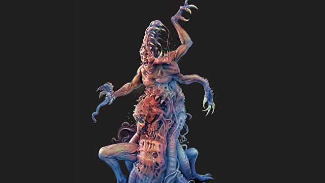 The Thing: The Board Game artwork alien 2