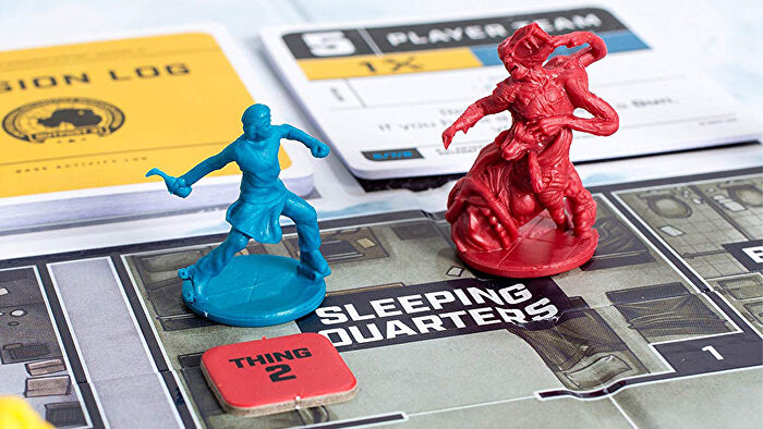 The Thing: Infection at Outpost 31 movie board game gameplay