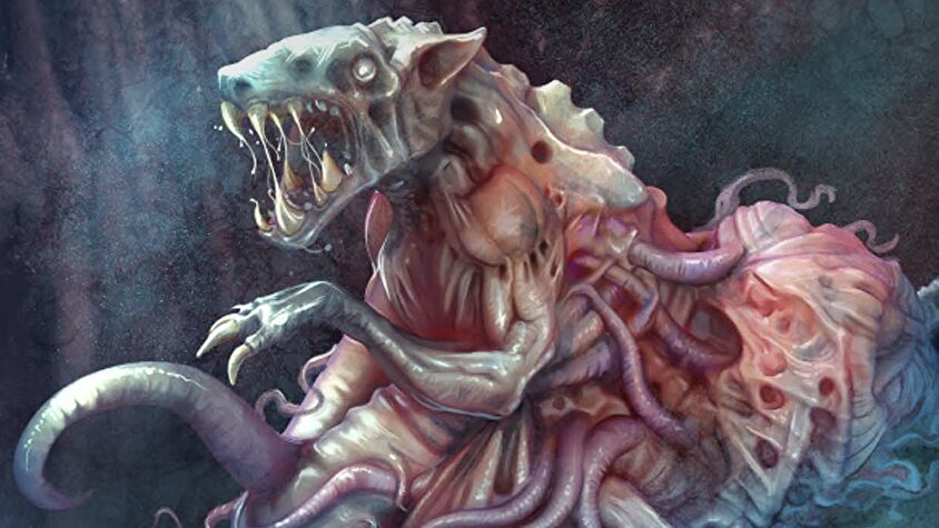 The Thing: The Board Game artwork alien