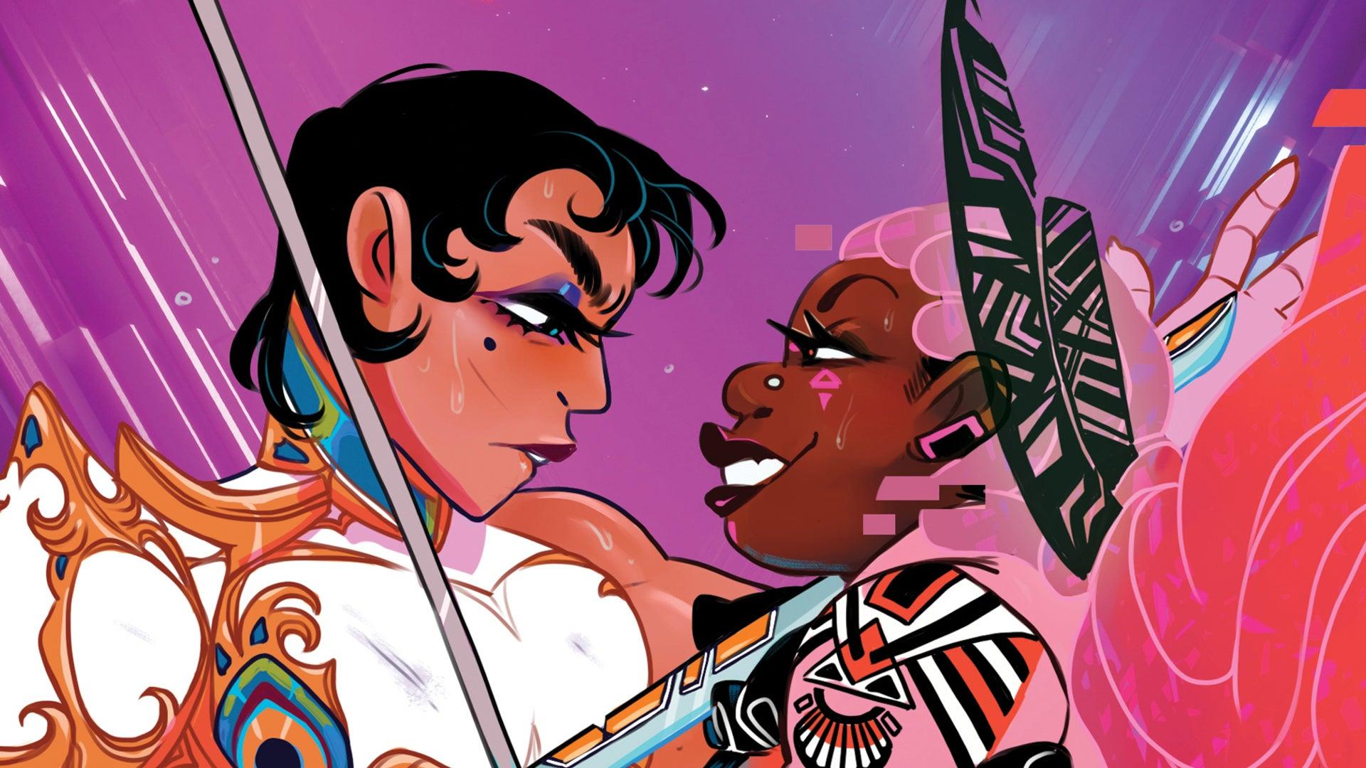 Thirsty Sword Lesbians RPG artwork