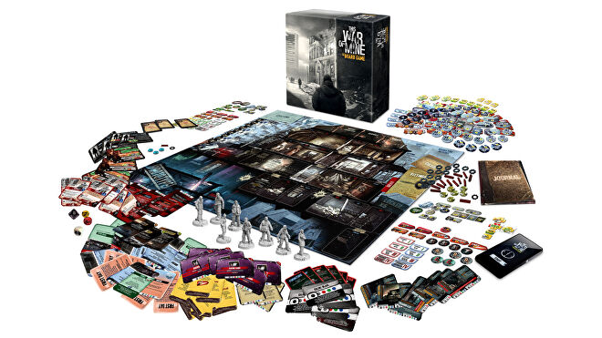 This War of Mine: The Board Game box