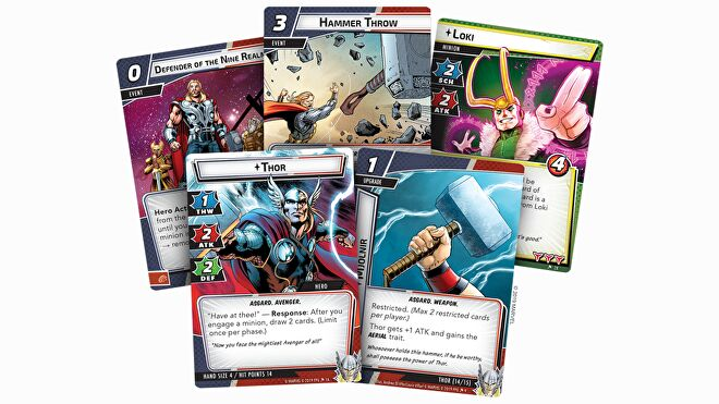 Thor Hero Pack Marvel Champions: The Card Game layout