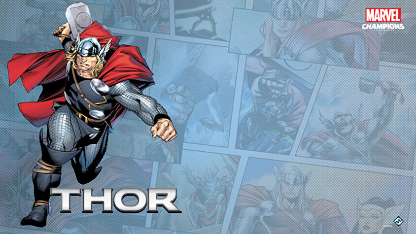 Thor Hero Pack Marvel Champions: The Card Game artwork