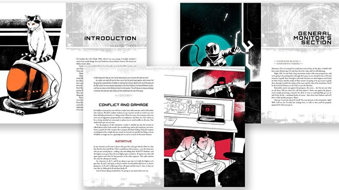 Those Dark Places roleplaying game pages 2