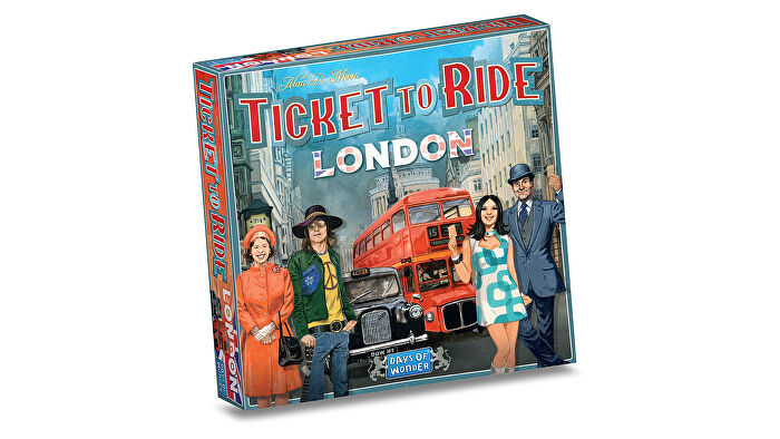 Ticket to Ride: London board game box