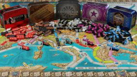 Ticket to Ride Europe: 15th Anniversary Edition layout