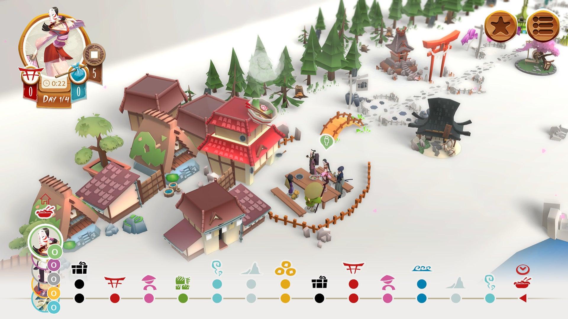 Tokaido Board Game digital screenshot 3