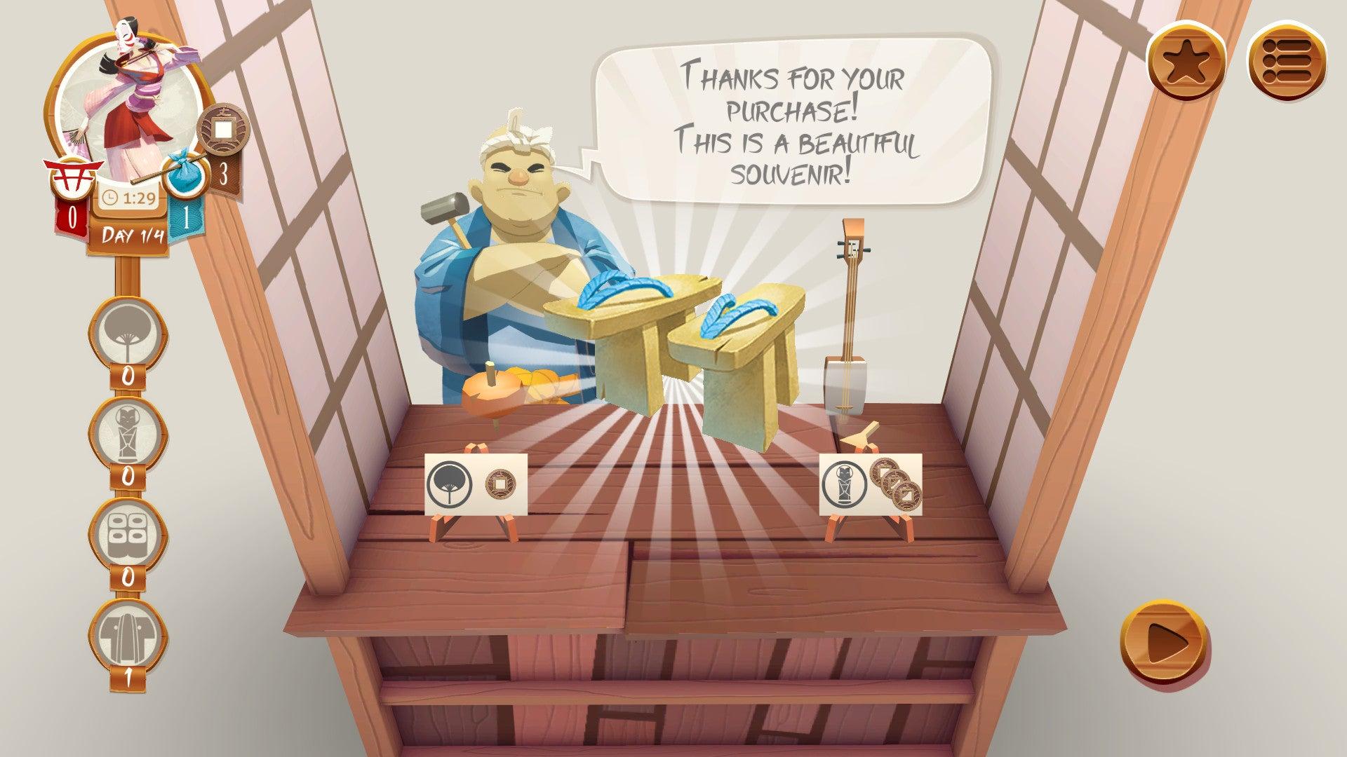 Tokaido Board Game digital screenshot 4