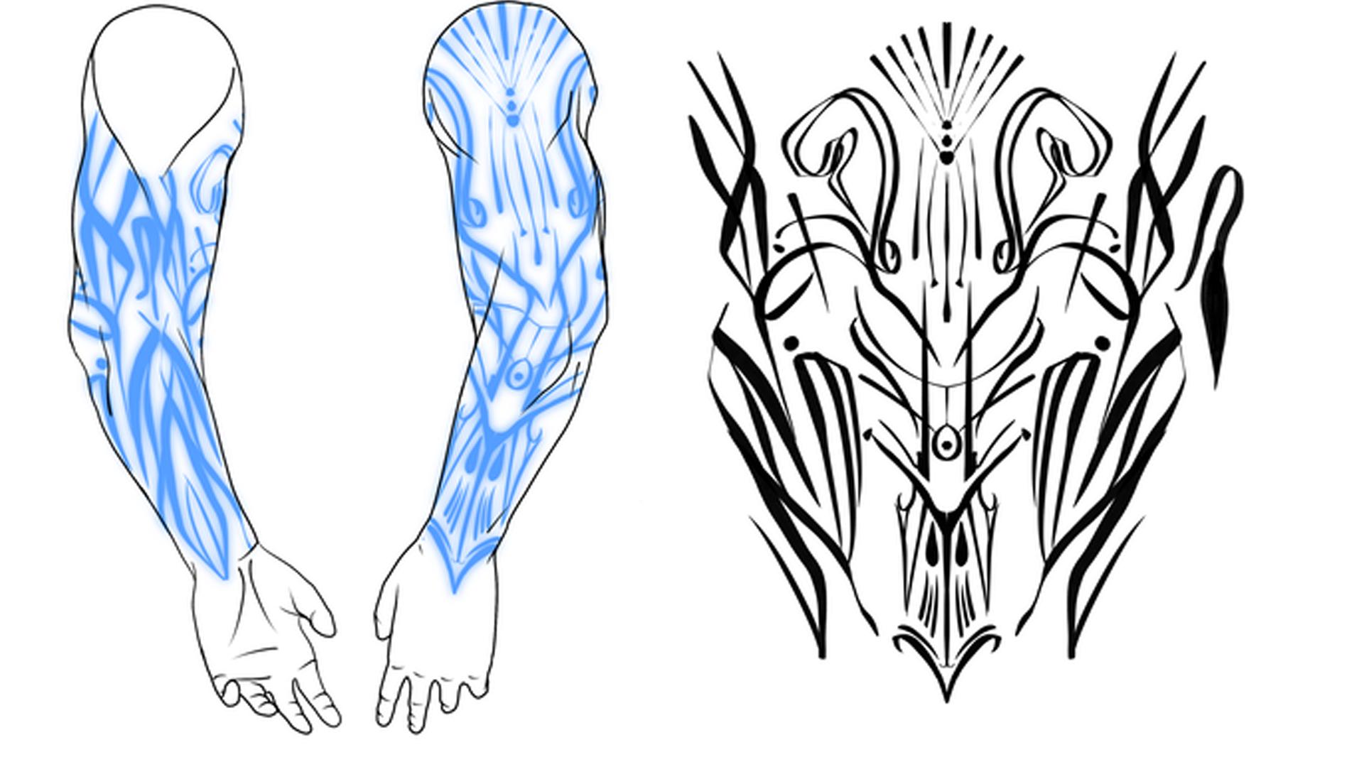 Tome of Tattoos artwork 2