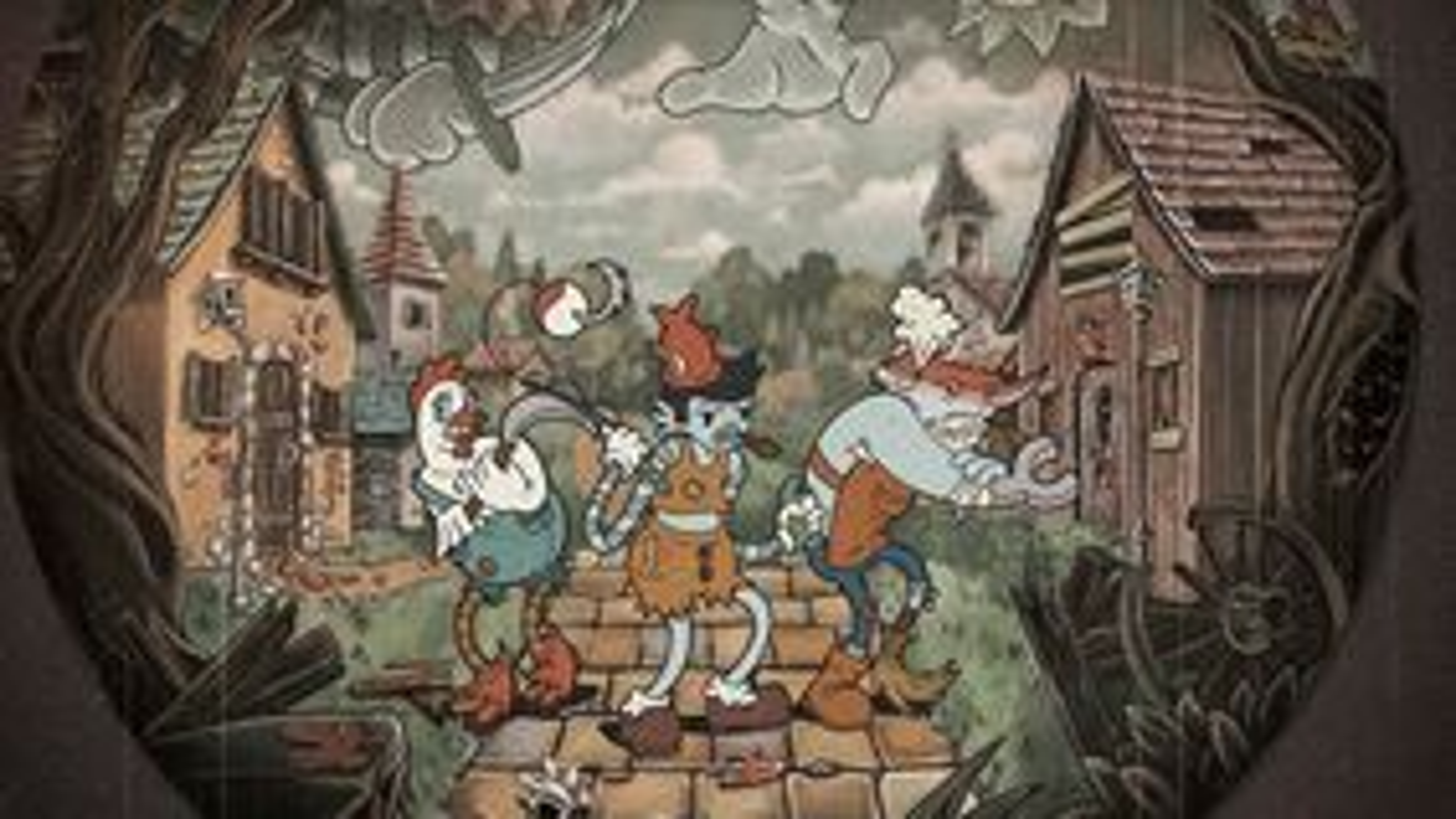 Townsfolk Tussle board game artwork