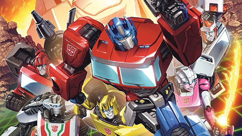 Transformers: Deck-Building Game cover