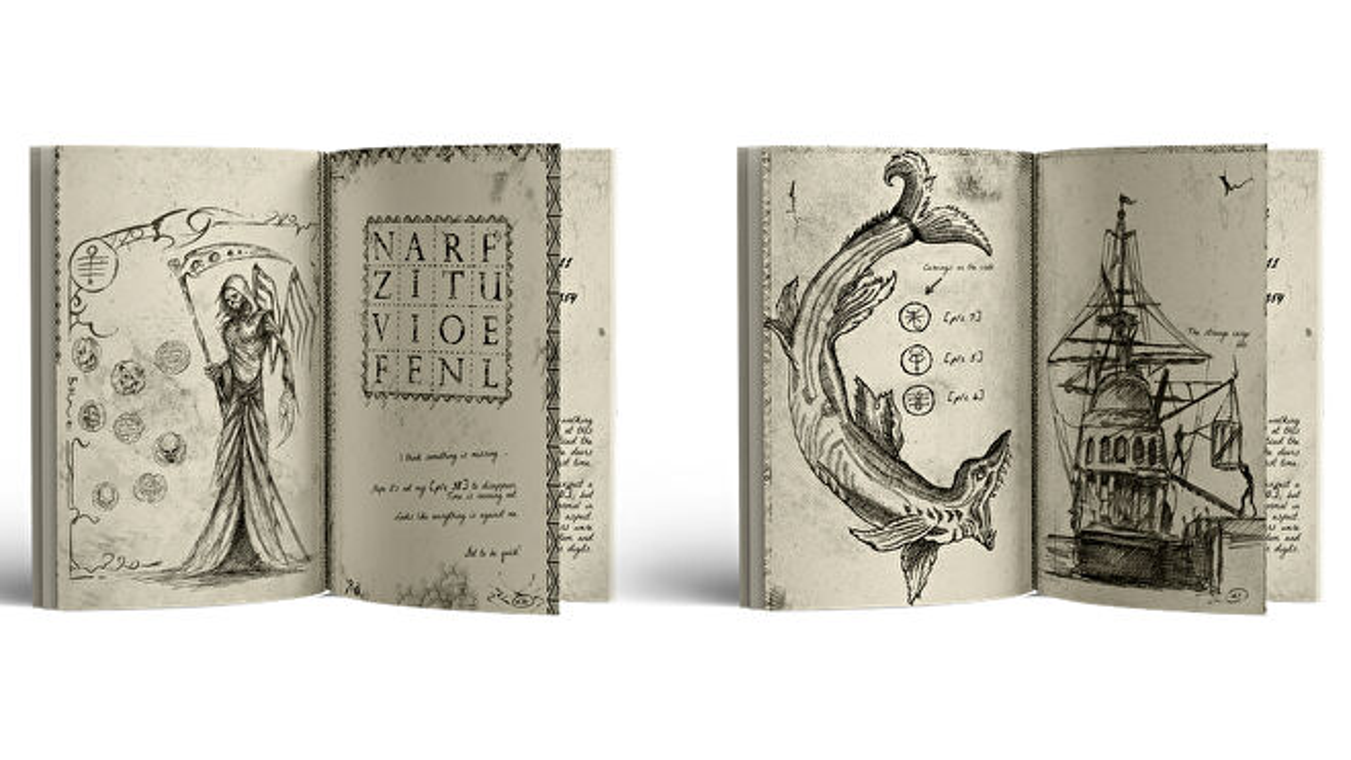 Trip 1908 Dark Sails book