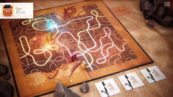 Tsuro digital game PC screenshot board 2