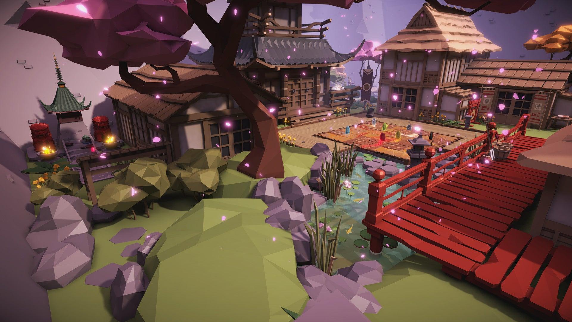 Tsuro VR Screenshot board