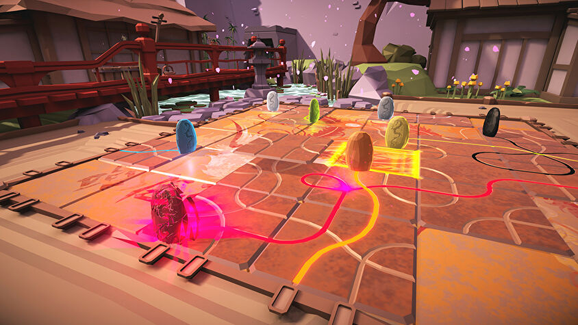 Tsuro VR screenshot garden