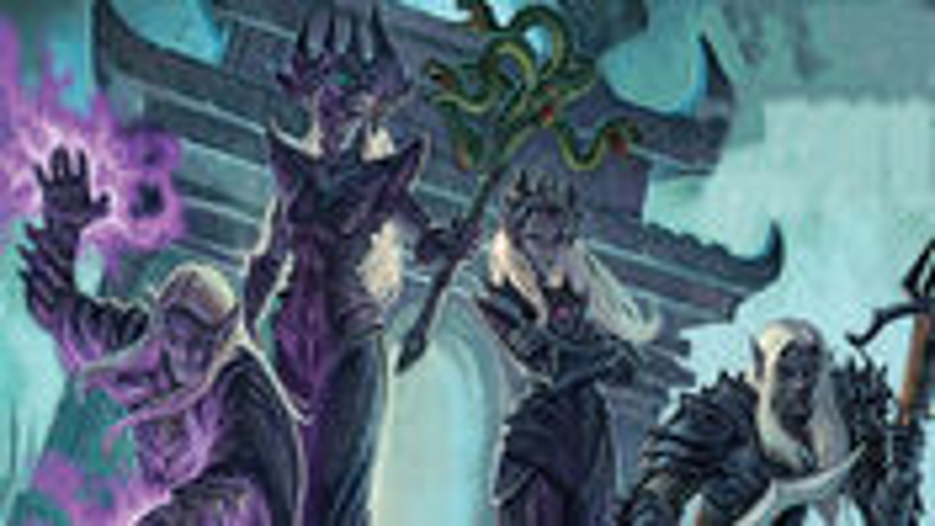 Tyrants of the Underdark board game artwork