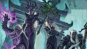 Tyrants of the Underdark board game artwork